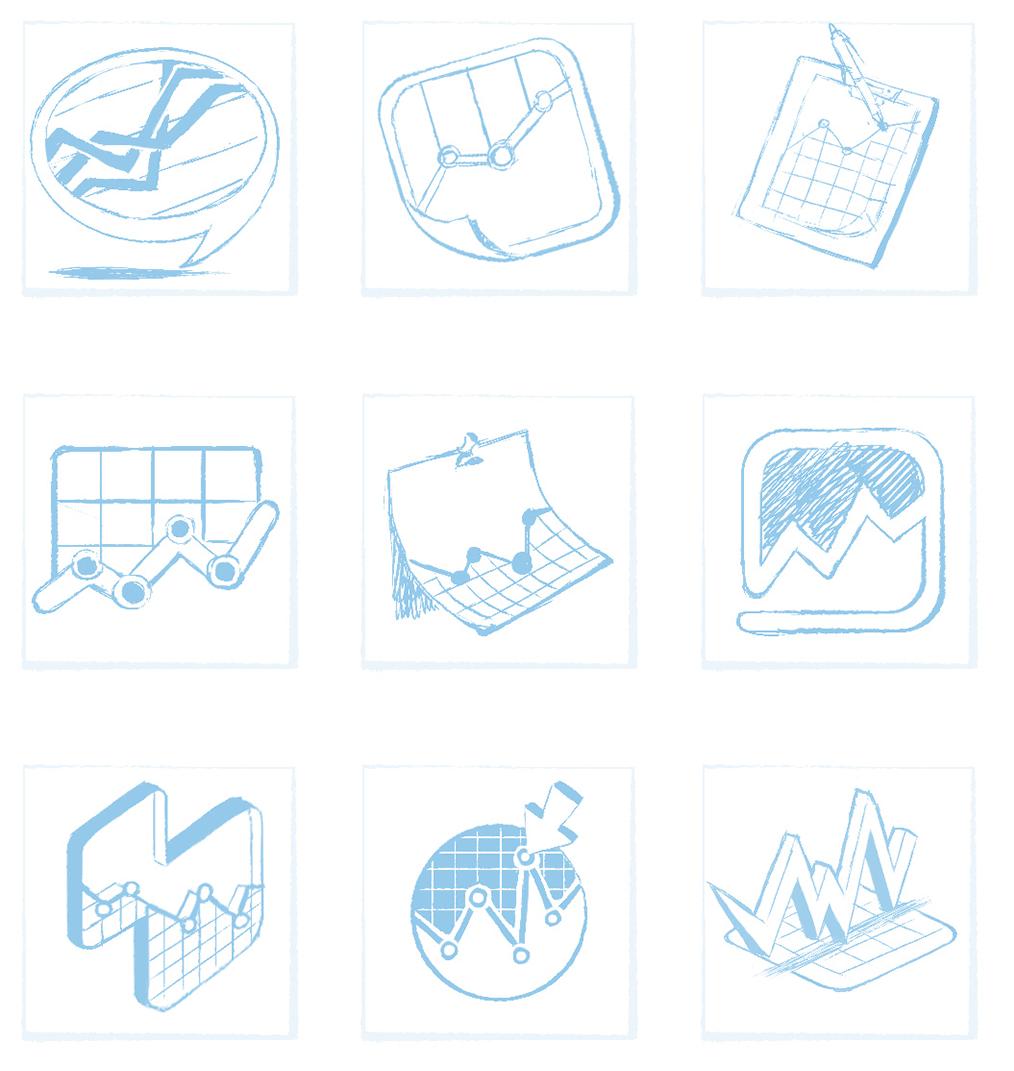 Analytics Buddy Icon Sketches