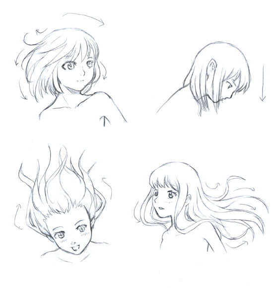 Cool Basic Manga Hair Tutorial Petshopbox Studio Short Hairstyles Gunalazisus