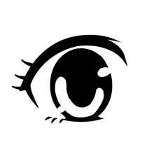 This Kind Of Eyes Depict Sweet Innocent Looking Character It Also Express Energetic